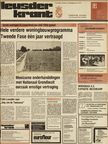 Leusder Krant 1978-08-17