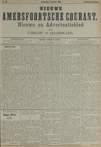 Nieuwe Amersfoortsche Courant 1885-10-07
