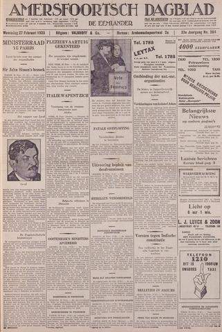 Amersfoortsch Dagblad / De Eemlander 1935-02-27