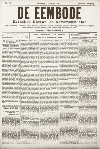 De Eembode 1893-10-07