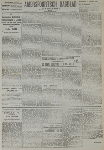 Amersfoortsch Dagblad / De Eemlander 1921-02-17