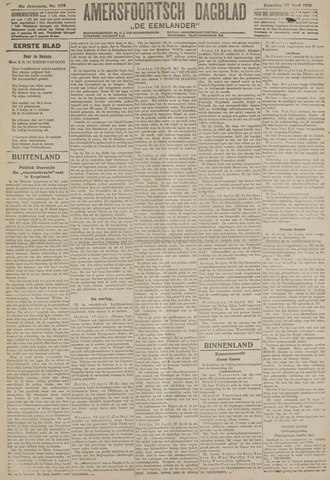 Amersfoortsch Dagblad / De Eemlander 1918-04-20