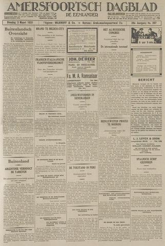 Amersfoortsch Dagblad / De Eemlander 1931-03-03