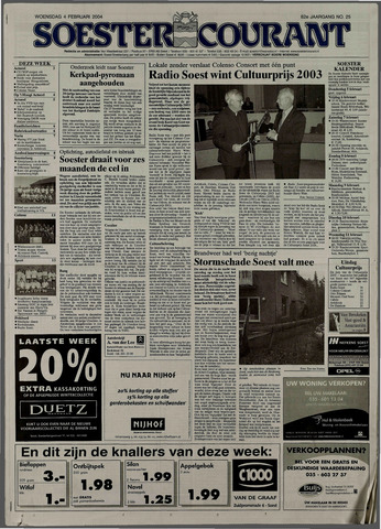 Soester Courant 2004-02-04