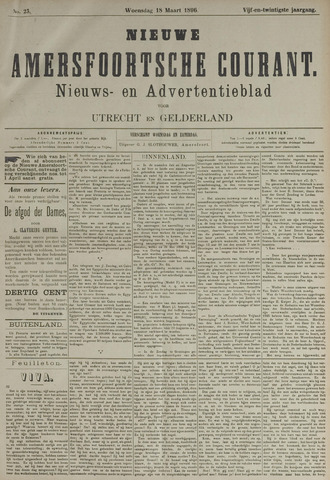 Nieuwe Amersfoortsche Courant 1896-03-18