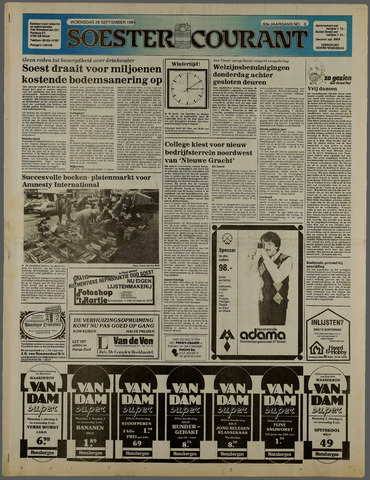 Soester Courant 1984-09-26