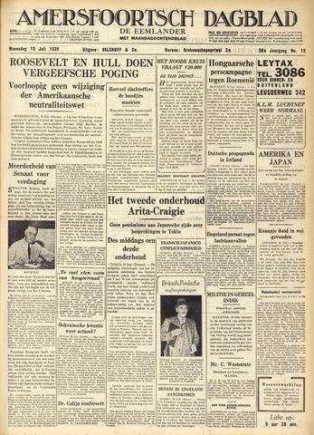 Amersfoortsch Dagblad / De Eemlander 1939-07-19