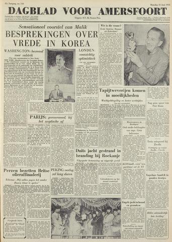 Dagblad voor Amersfoort 1951-06-25