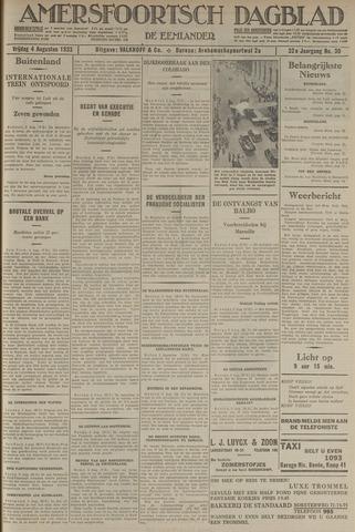 Amersfoortsch Dagblad / De Eemlander 1933-08-04