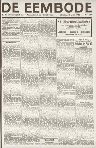 De Eembode 1922-07-11