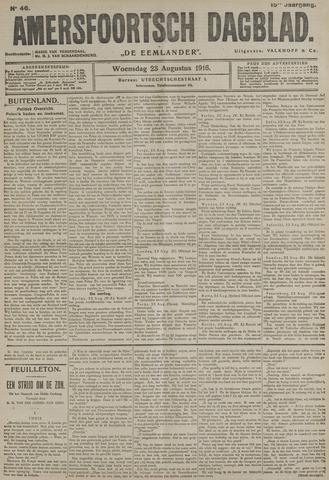 Amersfoortsch Dagblad / De Eemlander 1916-08-23