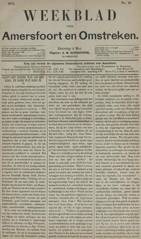 Weekblad voor Amersfoort en Omstreken 1872-05-04