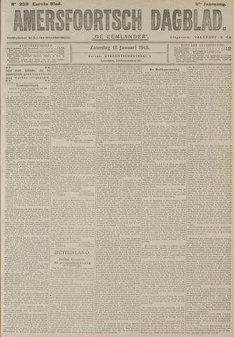 Amersfoortsch Dagblad / De Eemlander 1913-01-18