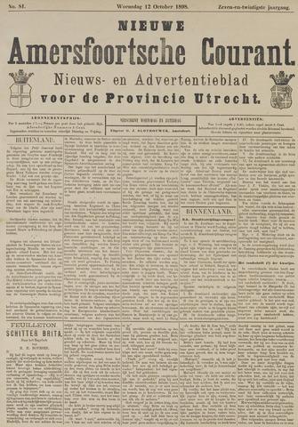 Nieuwe Amersfoortsche Courant 1898-10-12