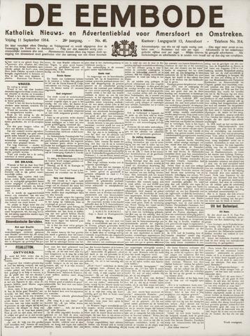 De Eembode 1914-09-11