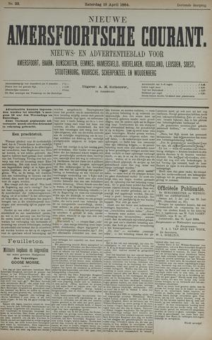 Nieuwe Amersfoortsche Courant 1884-04-19