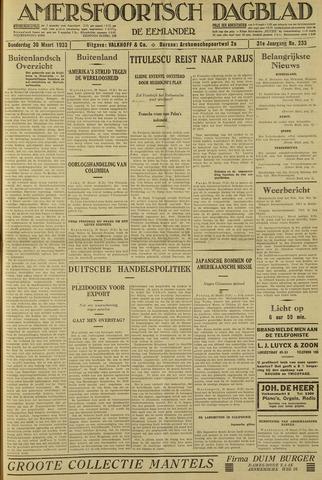 Amersfoortsch Dagblad / De Eemlander 1933-03-30