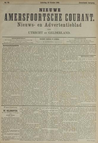 Nieuwe Amersfoortsche Courant 1888-10-20