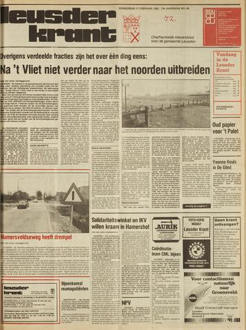 Leusder Krant 1982-02-11