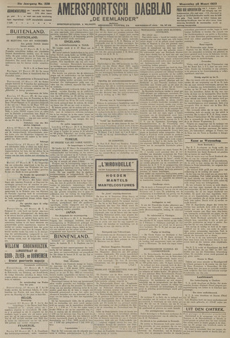 Amersfoortsch Dagblad / De Eemlander 1923-03-28