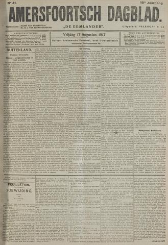Amersfoortsch Dagblad / De Eemlander 1917-08-17