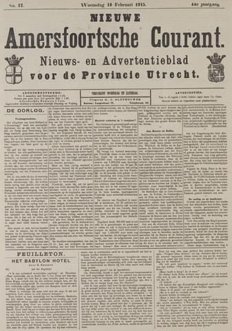 Nieuwe Amersfoortsche Courant 1915-02-10