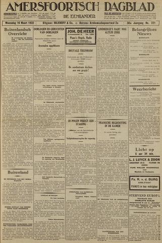 Amersfoortsch Dagblad / De Eemlander 1932-03-16