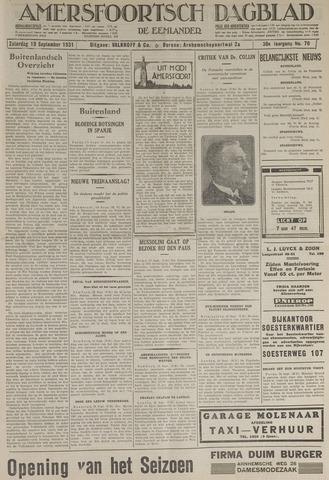 Amersfoortsch Dagblad / De Eemlander 1931-09-19
