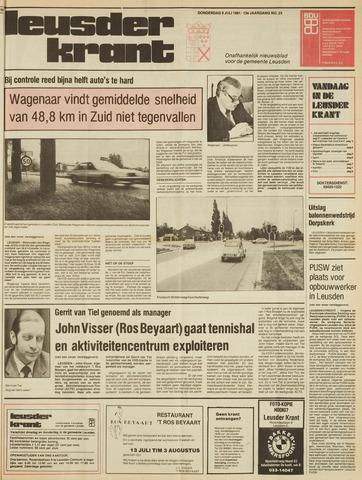 Leusder Krant 1981-07-09