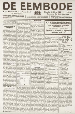 De Eembode 1923-11-13