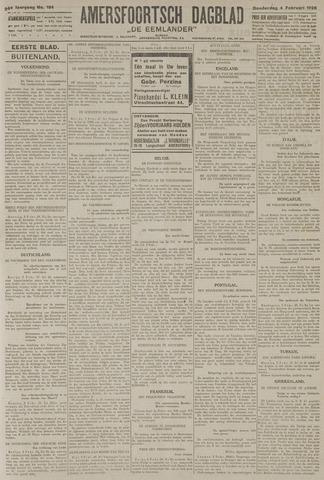 Amersfoortsch Dagblad / De Eemlander 1926-02-04