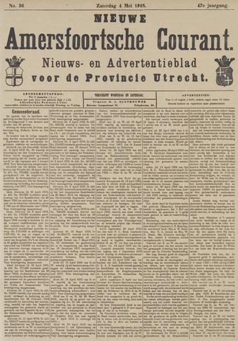 Nieuwe Amersfoortsche Courant 1918-05-04