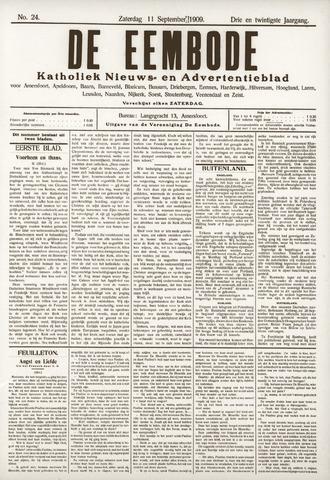 De Eembode 1909-09-11