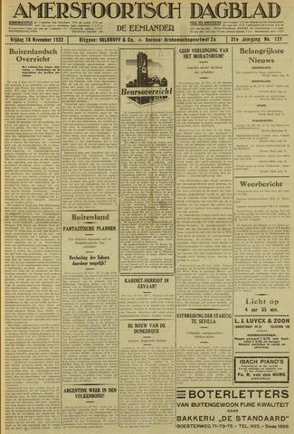 Amersfoortsch Dagblad / De Eemlander 1932-11-18