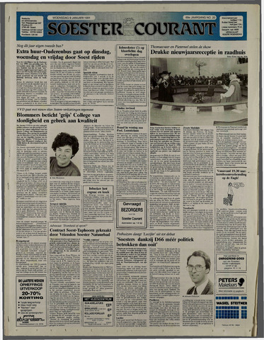 Soester Courant 1991-01-09