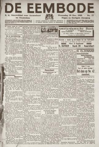 De Eembode 1925-12-30