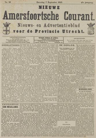 Nieuwe Amersfoortsche Courant 1918-09-07