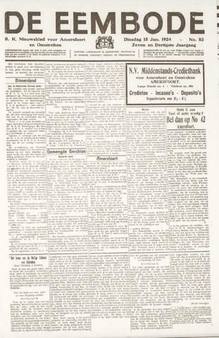 De Eembode 1924-01-15