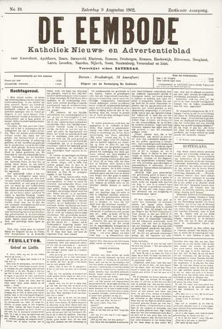 De Eembode 1902-08-09