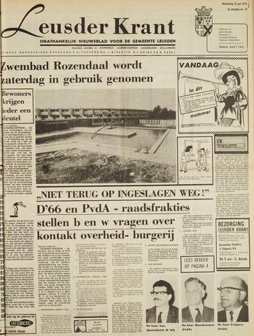 Leusder Krant 1971-07-22