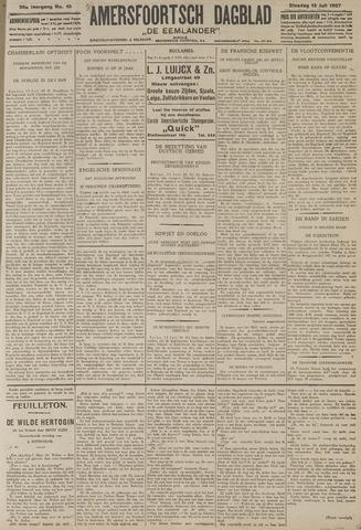 Amersfoortsch Dagblad / De Eemlander 1927-07-12