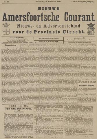 Nieuwe Amersfoortsche Courant 1905-11-29