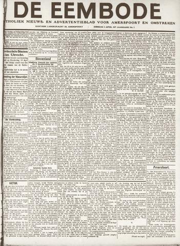 De Eembode 1919-04-01