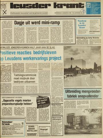 Leusder Krant 1983-08-04