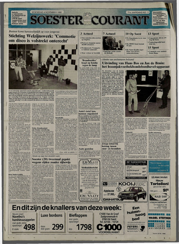 Soester Courant 1992-11-04