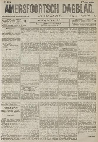Amersfoortsch Dagblad / De Eemlander 1913-04-28