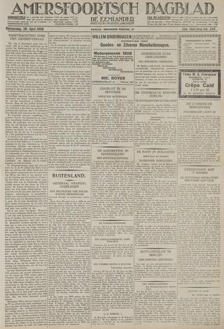 Amersfoortsch Dagblad / De Eemlander 1928-04-26