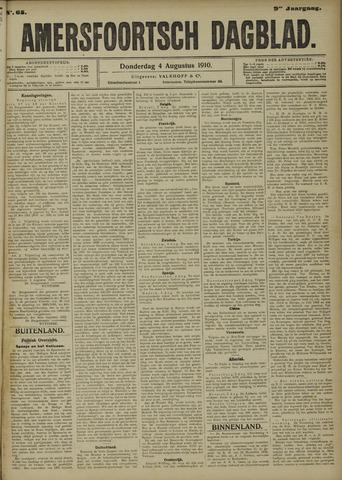 Amersfoortsch Dagblad 1910-08-04
