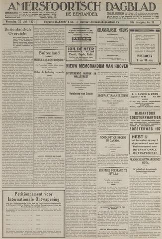 Amersfoortsch Dagblad / De Eemlander 1931-07-22