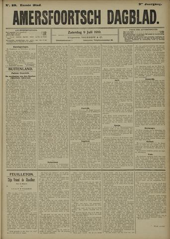 Amersfoortsch Dagblad 1910-07-09